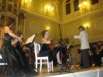 Playing with orchestra in St.Petersburg/ Russia
